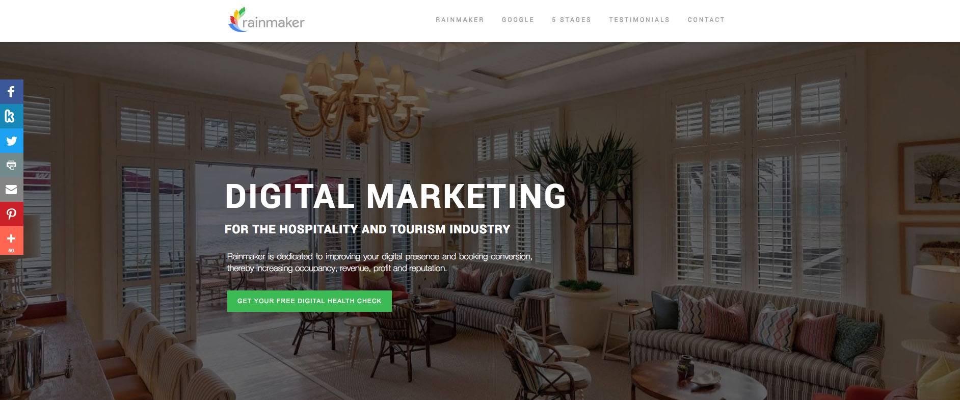 Tidy - The sitebuilder for professionals - rainmaker digital
